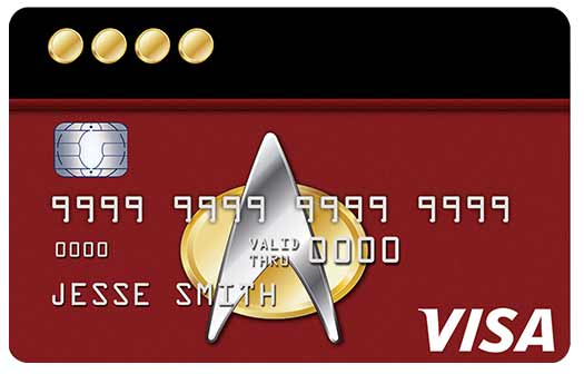 Star Trek Rewards Credit Card - Captain's Card