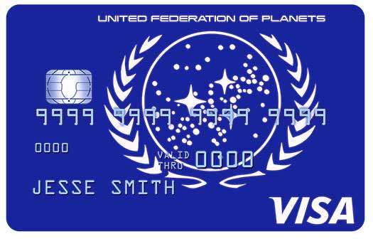 Star Trek Rewards Credit Card - United Federation of Planets