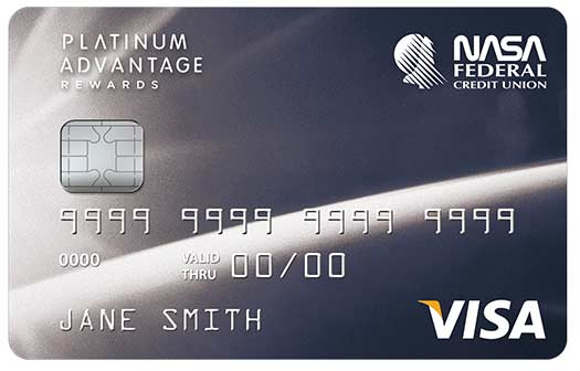 Platinum Advantage Rewards Credit Card with eclipse image