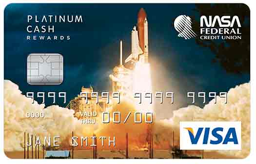 Platinum Cash Rewards Credit Card with Shuttle graphic