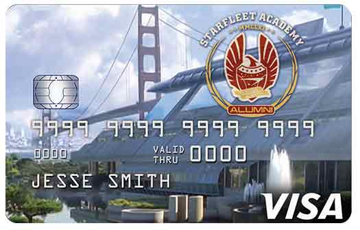 Star Trek Rewards Credit Card - Starfleet Academy