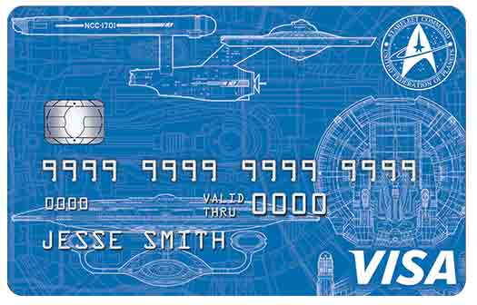 Star Trek Rewards Credit Card - Starfleet Command