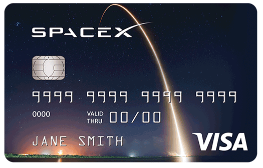 Space X Card Image