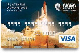 NASA FCU Platinum Advantage Rewards Credit Card